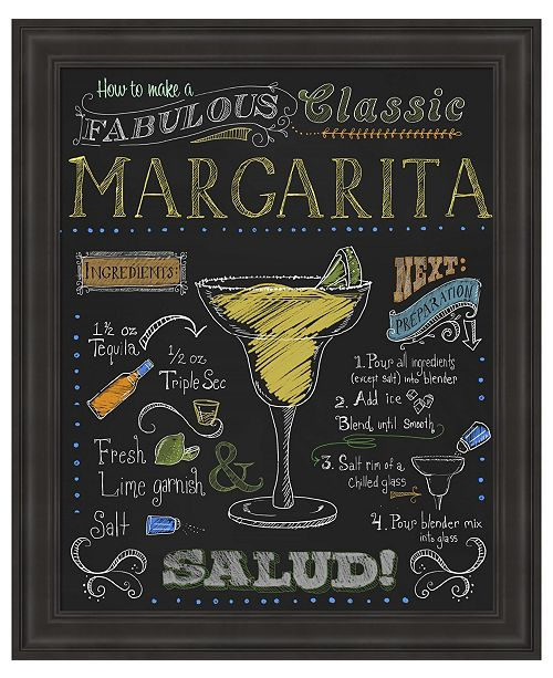Metaverse Margarita by Fiona Stokes-Gilbert Framed Art