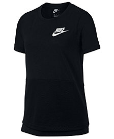 Nike Big Girls Mesh T-Shirt