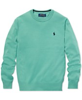 Polo Ralph Lauren Big Boys Cotton Crew-Neck Sweater e9c176597