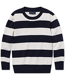 Polo Ralph Lauren Toddler Boys Striped Cotton Sweater