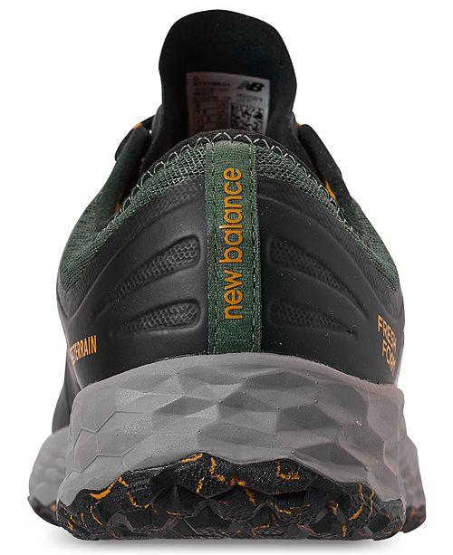 new concept 1fec7 60441 ... New Balance Men s Fresh Foam Kaymin Trail Running Sneakers from Finish  ...