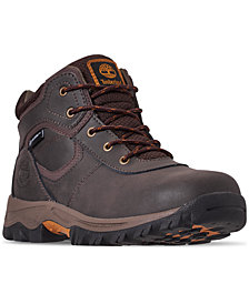 Timberland Boys' MT Maddsen Waterproof Hiking Boots from Finish Line