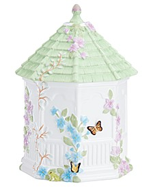 Butterfly Meadow Figural Gazebo Cookie Jar