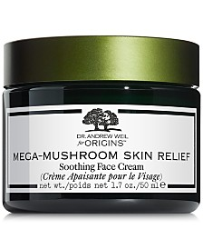 Origins Dr. Andrew Weil for Origins Mega Mushroom Skin Relief Soothing Face Cream, 1.7 oz