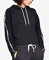 4b6ac2728 Under Armour Ottoman Fleece Cropped Hoodie