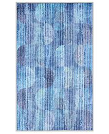 """Nourison Watercolor Blue 27"""" x 45"""" Accent Rug"""