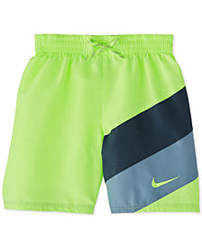"Nike Big Boys Signal 6"" Volley Swim Trunks"