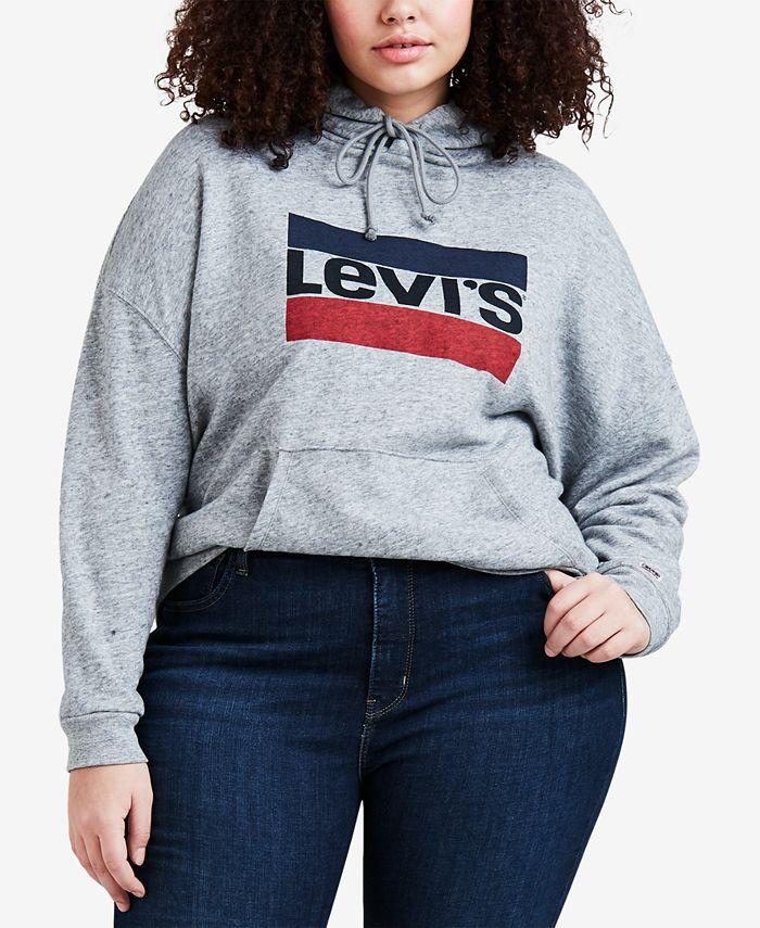 Levi's - Plus Size Logo Graphic Hoodie