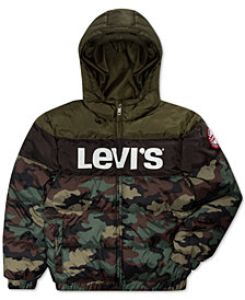 Levi's® Big Boys Logo Puffer Jacket