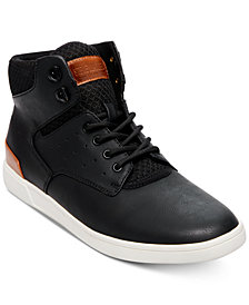 Steve Madden Men's Fridged High-Top Sneakers