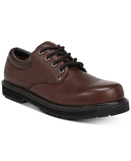 Dr. Scholl's Men's Harrington II Slip & Oil Resistant Oxfords