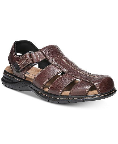 Dr. Scholl's Men's Gaston Leather Sandals