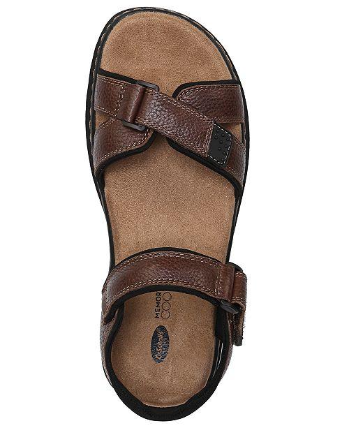 976d4611ed14 Dr. Scholl s Dr.Scholl s Men s Gus Leather Sandals   Reviews - All ...