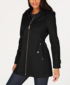 6830e901e6f4 MICHAEL Michael Kors Hooded Raincoat