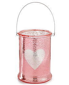 Martha Stewart Collection Valentine's Day Large Heart Hurricane, Created for Macy's
