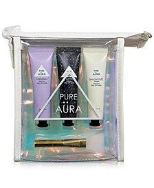 Pure Aura 4-Pc. Iridescent Peel-Off Mask Travel Set