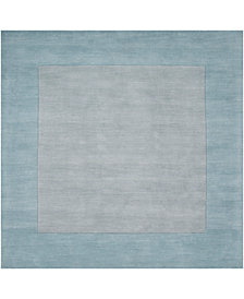 Surya Mystique M-305 Medium Gray 8' Square Area Rug