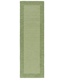"Mystique M-310 Grass Green 2'6"" x 8' Area Rug"