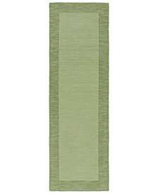 "Surya Mystique M-310 Grass Green 2'6"" x 8' Area Rug"