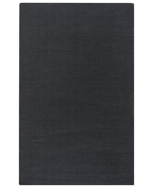Surya Mystique M-341 Charcoal 6' x 9' Area Rug