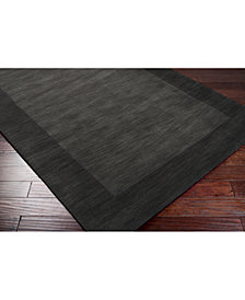 Surya Mystique M-347 Charcoal 8' Square Area Rug