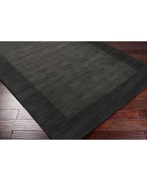 Surya Mystique M-347 Charcoal 8' Square Area Rug