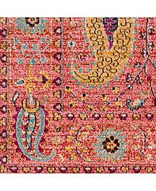 """Surya Anika ANI-1011 Bright Pink 18"""" Square Swatch"""