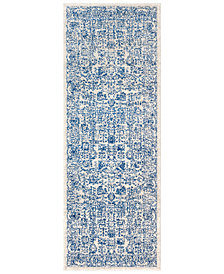 "Surya Harput HAP-1030 Dark Blue 2'7"" x 7'3"" Area Rug"