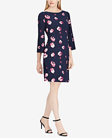 Lauren Ralph Lauren Petite Floral-Print Shift Dress