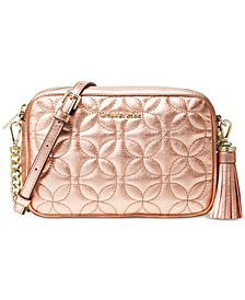 MICHAEL Michael Kors Quilted Floral Camera Bag