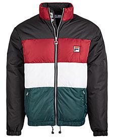 Fila Men's Colorblocked Puffer Jacket