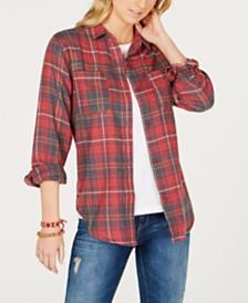 Hurley Juniors' Kara Plaid Shirt