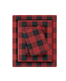 Woolrich Flannel Queen Cotton Sheet Set