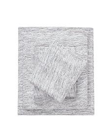 Urban Habitat Space Dyed Twin Cotton Jersey Knit Sheet Set
