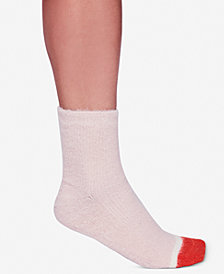 Free People Fuzzy Sparkle Socks