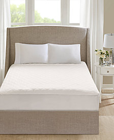 Beautyrest 100% Cotton Deep Pocket Heated Queen Mattress Pad