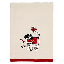 CLOSEOUT! Avanti Happy Pawlidays Bath Towel