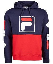 Fila Men's Marzio Colorblocked Fleece Hoodie