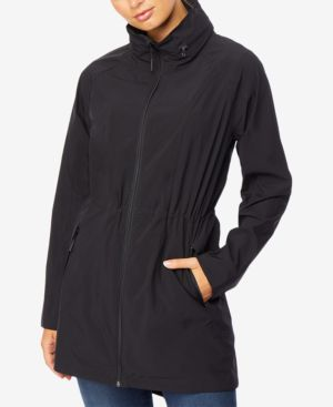 Image of 32 Degrees Hooded Water-Resistant Anorak Raincoat