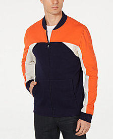 Alfani Men's Colorblocked Bomber Jacket, Created for Macy's