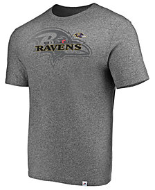 Majestic Men's Baltimore Ravens Static Fade T-Shirt