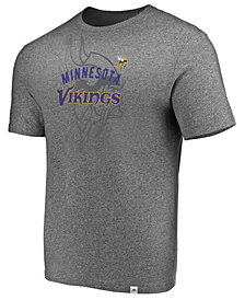 Majestic Men's Minnesota Vikings Static Fade T-Shirt
