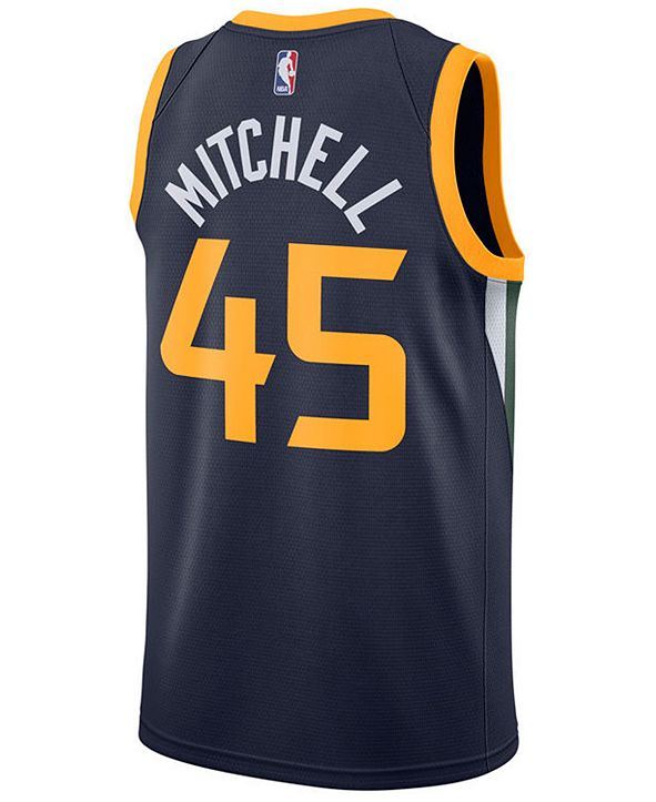 Nike Men's Donovan Mitchell Utah Jazz Icon Swingman Jersey