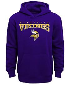 Outerstuff Minnesota Vikings Fleece Hoodie, Big Boys (8-20)