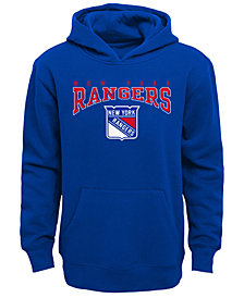 Outerstuff New York Rangers Fleece Hoodie, Big Boys (8-20)