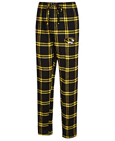 Concepts Sport Men's Missouri Tigers Homestretch Flannel Pajama Pants