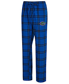 Concepts Sport Men's Florida Gators Homestretch Flannel Pajama Pants