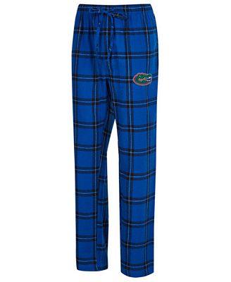 Concepts Sport Men's Florida Gators Homestretch Flannel Pajama Pants