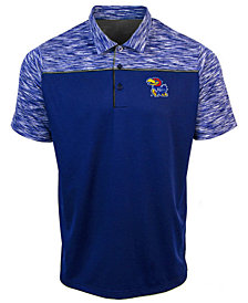 Antigua Men's Kansas Jayhawks Final Play Polo