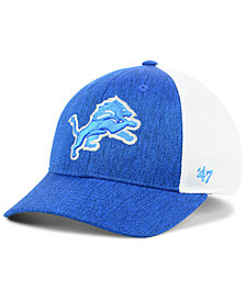 '47 Brand Detroit Lions Hazy Flex CONTENDER Stretch Fitted Cap